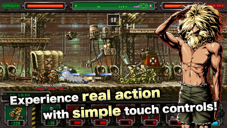 METAL SLUG DEFENSE screenshot-1
