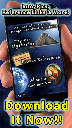 Ancient Aliens And Other Strange Unsolved Mysteries Screenshot
