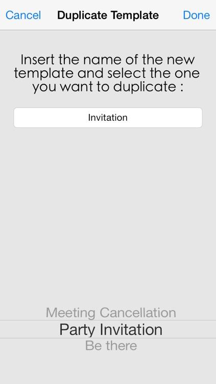 Email Templates screenshot-3