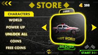 Crazy Police Pursuit - Cool arcade speed cop car road racing Screenshot on iOS