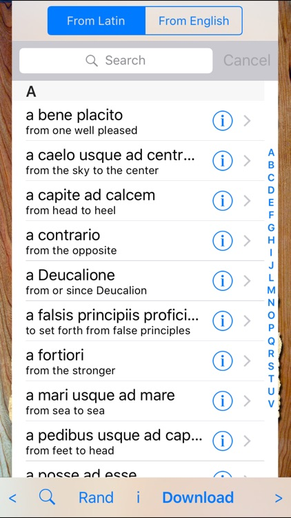 Latin Phrases Pro