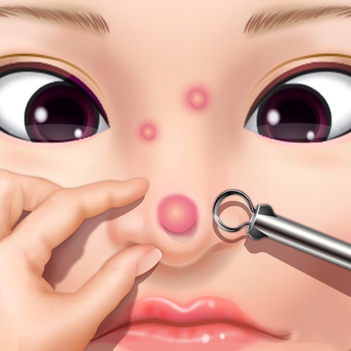 Pimple Popping Salon - Skin Care Doctor & Girls Game icon