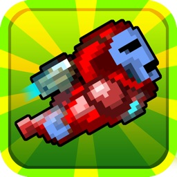 Flying Iron-Dude - The 2-Dot Line Tap Adventure Game FREE