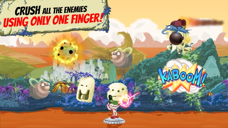 Jeff Space - Action Packed Arcade Shooting Game screenshot-3