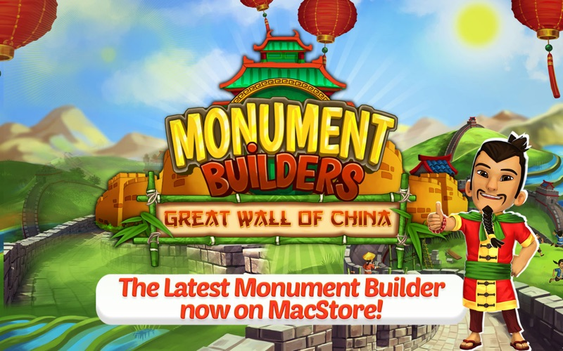 Monument Builders: Great Wall of China screenshot 1