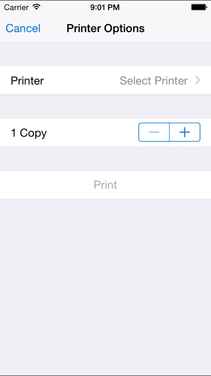 Printing Tape Calculator for iPad and iPhone