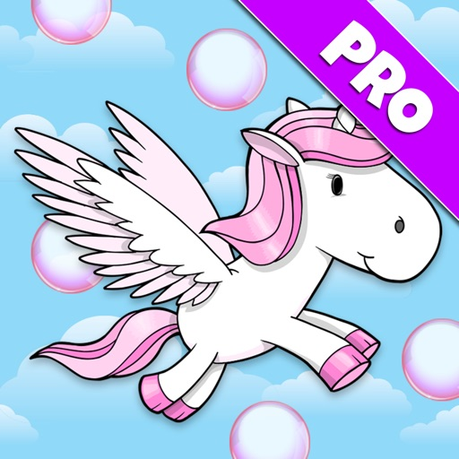 A Bubble Adventure: Flying Unicorn Dash - Pro Edition