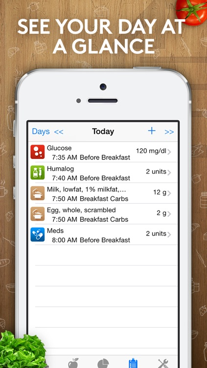 Track3 - Diabetes Planner, Diabetes Glucose Logbook, Diabetes Tracker, Carb Counter