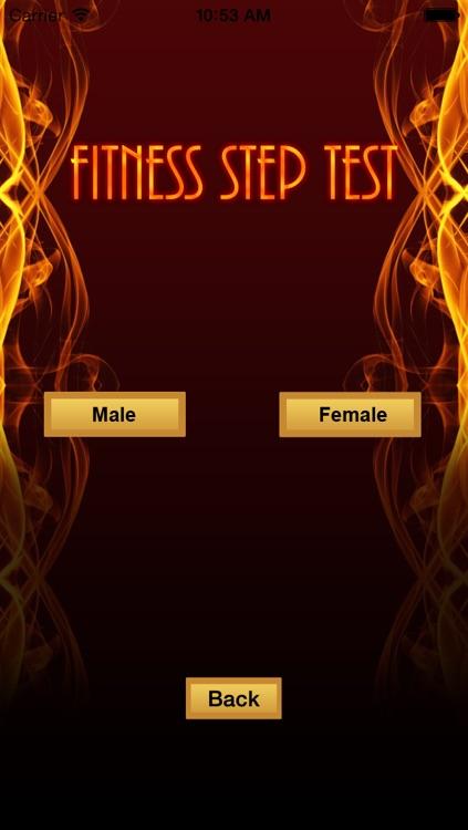 Fitness Step Test- VO2max