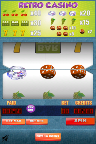 Retro Slots Casino: Play Fun Slot Machine Daily screenshot 2
