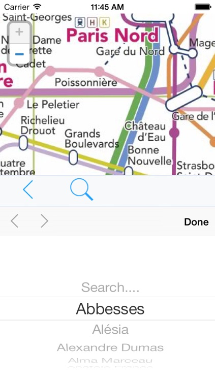 Paris Métro - transport offline map