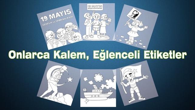 19 Mayıs Boyama Kitabı Minik Bilge Ile Atatürkü Anma Gençlik Ve