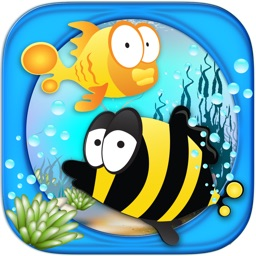 Count the fish! Fast fun number Tap game
