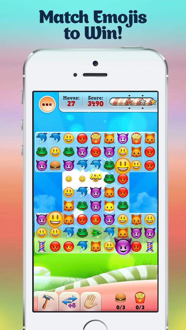 Happy Daze – Match 3 Puzzle Game with Emoji Keyboard Characters Cheat Codes