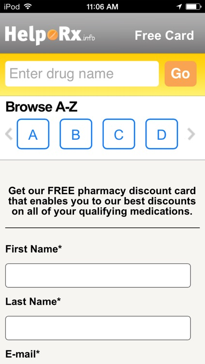 HelpRx Mobile Prescription Discounts screenshot-4