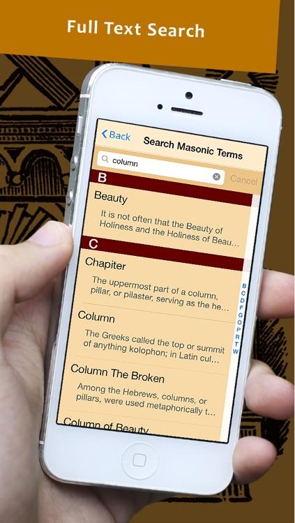 Masonic Rituals Reference - The Masonic Ritual Monitor and Symbolism Guide screenshot-3