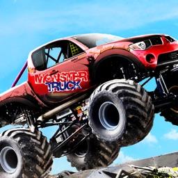 Monster Truck Smash Warrior Free Car Racing Games