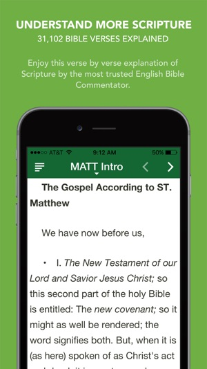 ‎Matthew Henry Commentary with Audio - 31,102 Bible verses explained
