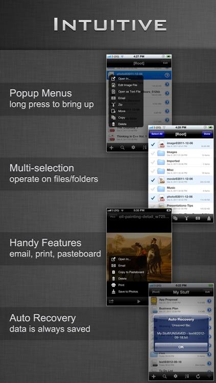 File Manager - Folder Plus Lite screenshot-3