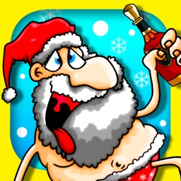 A Drunk Santa! FREE : Half Naked Hussle Game - By Dead Cool Apps