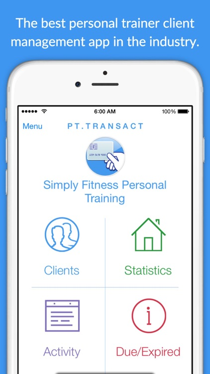 PT.Transact+ for Personal Trainers