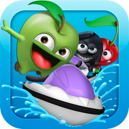 Loopy Fruit Splash - FREE downhill jetski ride racing saga