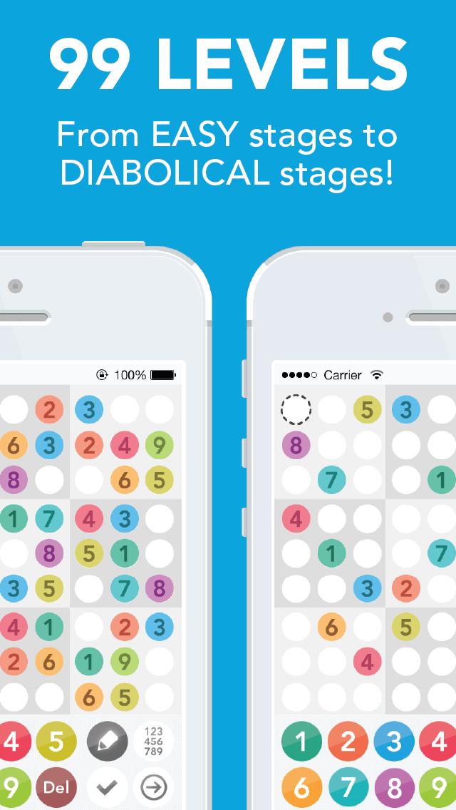 Sudoku : Number Place screenshot two