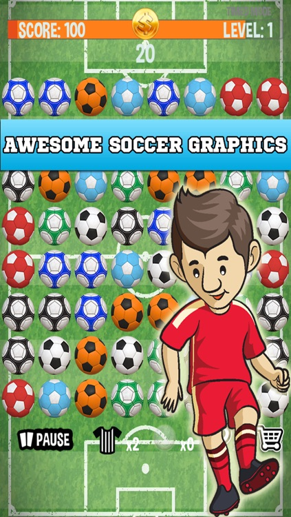 Football Match Mania - Free Soccer Puzzle Game! screenshot-3