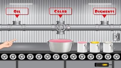 Lipstick Factory – A lipstick design studio & packing simulator game screenshot four