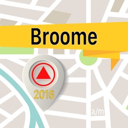 Broome Offline Map Navigator and Guide