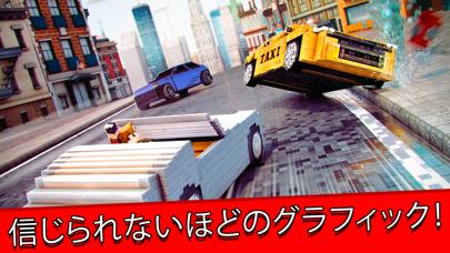 サバイバル カーズ . 無料 マイクラ 車 レース ゲーム 3Dのおすすめ画像3
