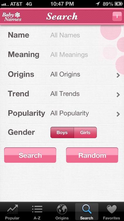 Baby Names™ screenshot-4