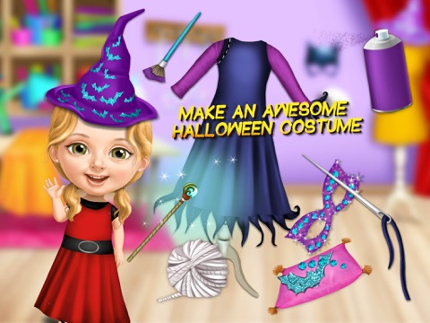 Sweet Baby Girl Halloween Fun - Spooky Makeover & Dress Up Party - No Ads для iPad