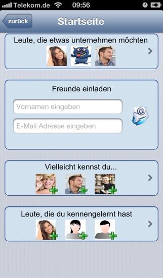 DateboardScreenshot von 2