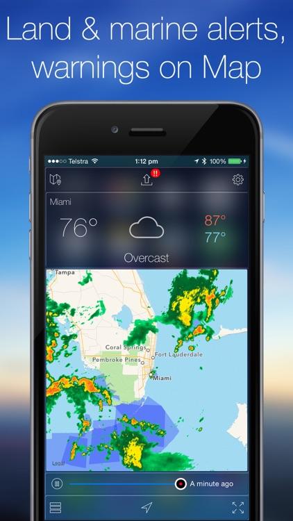 Weather Radar Map & NOAA Forecast Pro screenshot-3