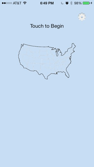 State Capitals Test on the App Store