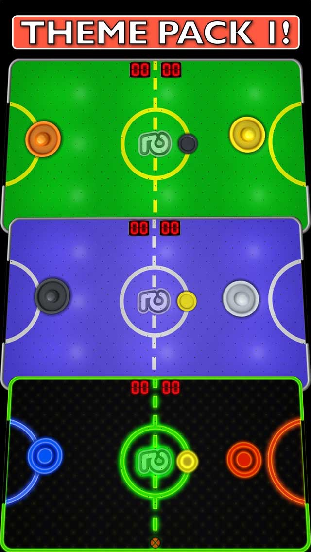 Screenshots of Touch Hockey: FS5 (FREE) for iPhone
