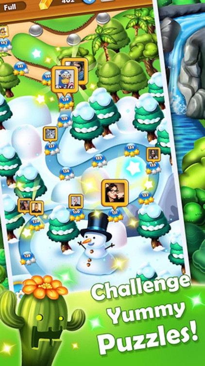 Fruit Heroes - 3 match bust puzzle game screenshot-3
