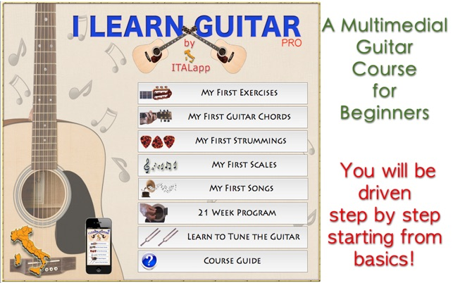 Guitar Learning Software | Easy and free to use
