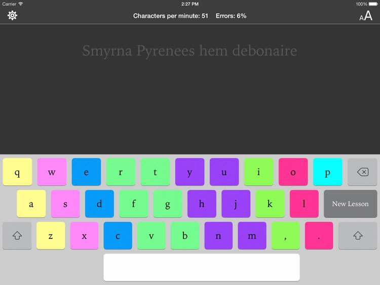 Typing Tutor for iPad screenshot-4