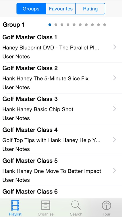 Golf Master Class screenshot-1