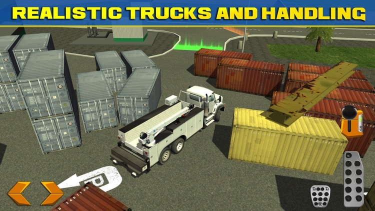 Trucker Parking Simulator Real Monster Truck Car Racing Driving Test screenshot-3