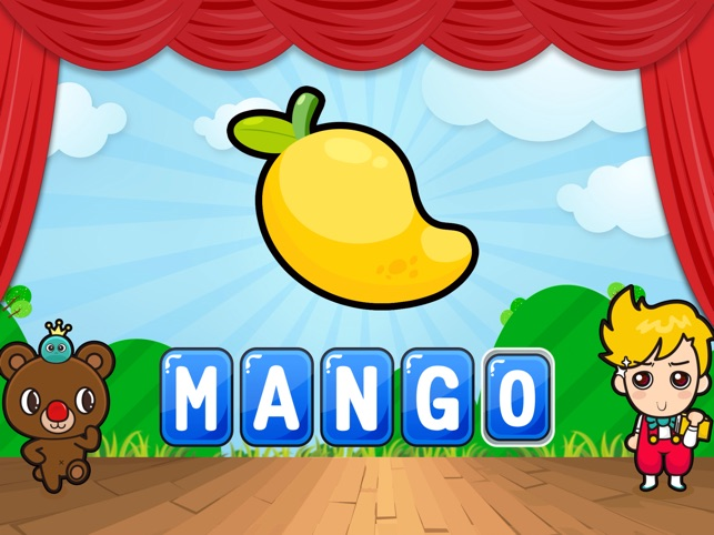 ABC-Words Deluxe - Pre-school english learning app for toddlers and kids
