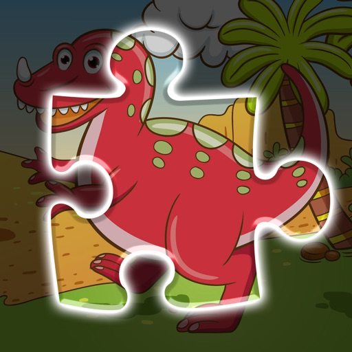 A funny Dinosaur Puzzle Game - Free