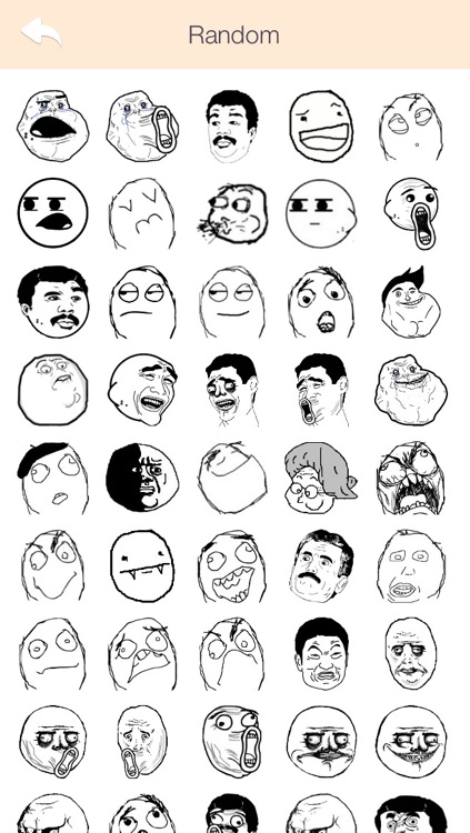 funny rage stickers troll faces free for whatsapp all