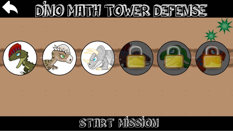 Dinosaur Math Tower Defense screenshot-4