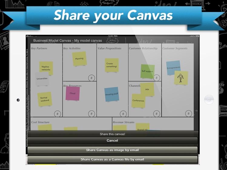 Canvas Model Design - Build your Startup screenshot-3