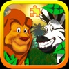 Jigsaw Zoo Animal Puzzle - Free Animated Puzzles for Kids with Funny Cartoon Animals! - iPhoneアプリ