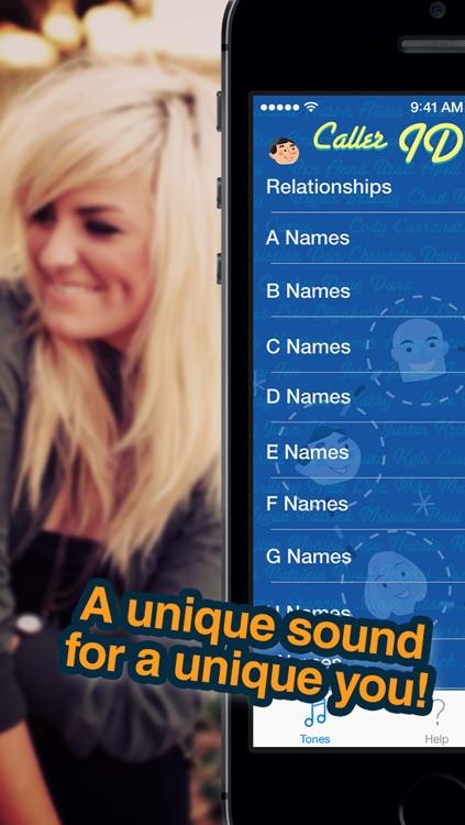 Free Caller ID Ringtones - HEAR who is calling screenshot-4
