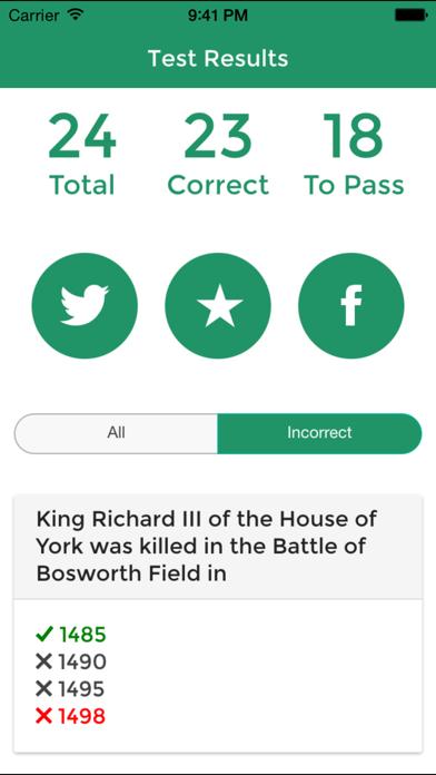 Life in the UK Test 2015 Free - UK Citizenship Test 2015 screenshot three
